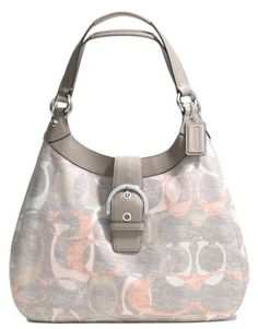 http://travelbags.discounttravelprices.com/?qpn-pinnable-post=coach-soho-optic-linen-large-hobo-shoulder-bag-style-19214-multicolor This beautiful Coach soho hobo is made with linen fabric  with Coach optic C signature -- you your summer outings.  Handle and trim is made of gray leather, and silver-tone hardware.  The larger size helps you carry all your essentials, and three compartments help you organize your things in easy-to-find manner.  The...