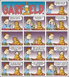 Adult Garfield