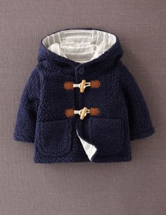 Fleece Duffle 71293 Outerwear at Boden