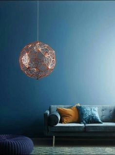 Rame lamp and ottanio pantone