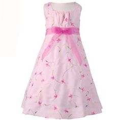 Little Girls Clothes PINK FUCHSIA FLORAL Easter Dress Spring Girl  ...Does anyone remember getting new Easter outfits when they were young? It was a thrill for me...