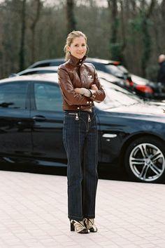 Teen Vogue Fashion Director, Marina Larroude, after Louis Vuitton, Paris, March 2015   Vanessa Jackman   Paris Fashion Week AW 2015