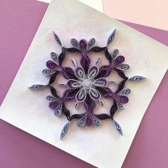 Mandala, Quilling, Birthday Card, Greeting Cards, Paper Quilling, Card For Boyfriend, Card For Girlfriend, Card for Husband, Card for Wife