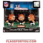 Cincinnati Bengals Lil' Teammates Collectible Team Set