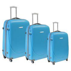 Travelers Club Barnet 3 Piece Luggage Set & Reviews | Wayfair