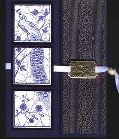 Peacock Tiles  Oriental Card Class JK