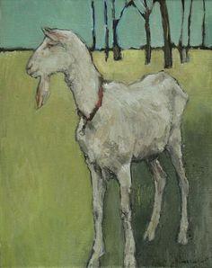 Mail - aconway@westfieldnjk12.org Goat Paintings, Animal Paintings, Bird Drawings, Animal Drawings, Goat Art, Sheep Art, Abstract Animals, Art For Art Sake, Whimsical Art