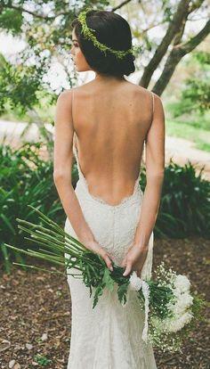 Wedding dress: Katie May