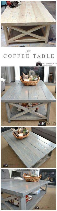 12 Beautifully Rustic DIY Farmhouse Tables