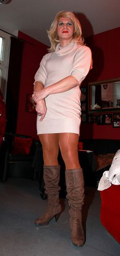 """crossdressersworld: """"The spectacular Tina Turtle. """" Take a look at my archive here: https://tanjatherusticgirl.tumblr.com/archive"""