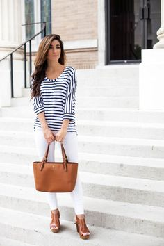 Spring Summer Fashion 2015 Trend Alert : Statement Stripes