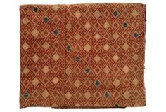 One Kings Lane - By the Yard - Silk Embroidered Tribal Throw