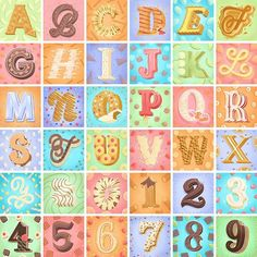 Hand Lettering Alphabet by Belinda Kou / hand lettering / lettering / digital lettering / ipad lettering Hand Lettering Alphabet, Drop Cap, Types Of Lettering, Having A Blast, Types Of Food, Doodles, It Is Finished, Typography, Kids Rugs