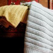 # 097 Merino Blanket - via @Craftsy