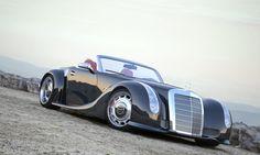 Воплощение своей мечты он доверил концерну Mercedes. Его идея состояла в том, чтобы из легендарного M-B 300 SC 1955 г, которых было выпущено не более 100 экземпляров, сделать современный родстер на базе SLS AMG. В итоге получился уникальный монстр Gullwing America, цена которого держится в строгом секрете. M-B GWA 300 SLC снабдили V8 на 571 лошад. силу, максимальная скорость — 315 км/ч, разгон до 100 км занимает 3,8 сек.