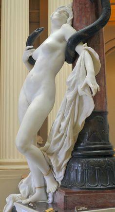orchid1959:  infinatebeauty:   kzmkwoji:    Desiré Maurice Ferrary (1852 - 1904) Salambo 1899  Exquisitely Beautiful Sculpture