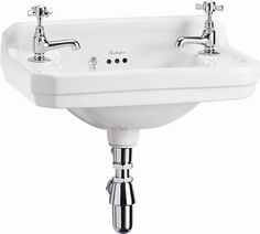 Browse Here For A Great Deal on Traditional Burlington Bathrooms Edwardian Cloakroom Basin with wash stand or towel rail, Buy From A Trusted Retailer est 18 Years Online Or In Our Bathroom Showroom Cloakroom Basin, Cloakroom, Traditional Bathroom, Wall Mounted Sink, Wall Mounted Basins, Victorian Bathroom, Wash Stand, Downstairs Toilet, Sink