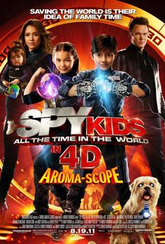 Spy Kids 4  (Aroma Scope--4D...not so much)