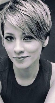 Modern Pixie with Bangs