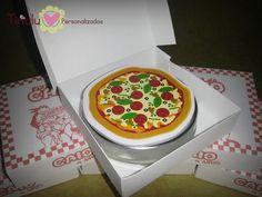 Latinhas Caixa De Pizza Tartarugas Ninjas - R$ 30,00 no MercadoLivre