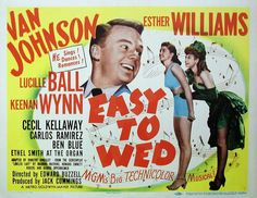 Easy to Wed: Van Johnson, Esther Williams, and Lucille Ball