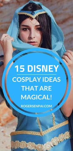 In this post, you'll find 15 Disney cosplay ideas that are truly wonderful! There are so many Disney characters, it was hard to pinpoint just 15 of them. But I kept this list as diverse as possible (e.g. Disney princesses, Pixar characters, video game characters, newer series, etc).  #cosplay #cosplayideas #disneycosplay Pocahontas Cosplay, Esmeralda Cosplay, Cinderella Cosplay, Rapunzel Cosplay, Disney Pocahontas, Disney Cosplay, Pixar Characters, Video Game Characters, New Disney Princesses
