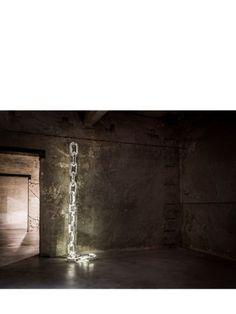 DAVIDE MEDRI - FREEDOM SUPER WALL LAMP - SILVER