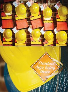 Clever & Bright Construction Birthday Bash