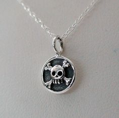 FashionJunkie4Life - Pirate Skull Necklace - Sterling Silver Skull Necklace, $16.00 (http://www.fashionjunkie4life.com/pirate-skull-necklace-sterling-silver-skull-necklace/) 10% discount for Pinterest users. Coupon code PIN10.