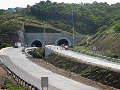 "Tunnel under construction, 2008, Maunabo, Puerto Rico*****  ""Tunel de Maunabo, Puerto Rico"" by Jose Oquendo from Freeport, NY - Maunabo, Puerto Rico / Túnel en construcción. Licensed under CC BY 2.0 via Commons -"