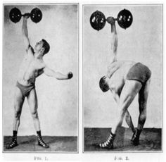 burt elliott's classic strongman equipment  oldtime