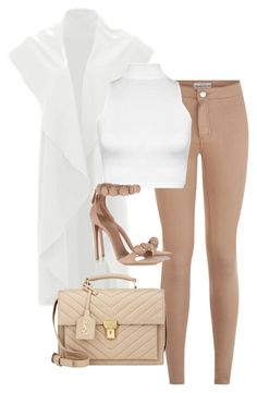 """""""Untitled #273"""" by gabririixx ❤ liked on Polyvore featuring WearAll, Alaïa and Yves Saint Laurent"""