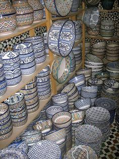 ¡¡Geometría hasta en la sopa!! Cerámica marroquí: Geometría y Arte.