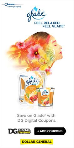 There are a ton of awesome Glade coupons at Dollar General right now. I made a big list of matchups for you too! #FeelGlade #ad