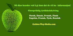 flerspråklig markedsføring