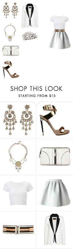 """""""The cadeau bien pensé Collection"""" by itgirkendra ❤ liked on Polyvore featuring Petralux, Giuseppe Zanotti, Milly, Lipsy, MSGM, River Island, Roberto Cavalli, Pull&Bear and lovehate"""