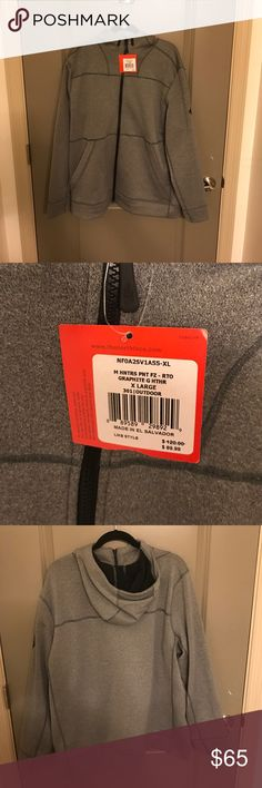 North Face hooded sweatshirt Brand-new with tags's Northface hooded sweatshirt.  Super soft and high quality. XL The North Face Jackets & Coats