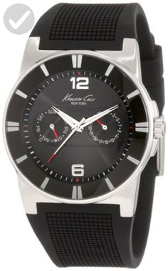 Kenneth Cole New York Men's KC1405-NY Sport Trend Round black Watch - Mens world (*Amazon Partner-Link)