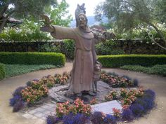 St Francis statue at St. Francis Winery