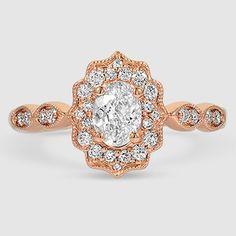 Engagement Rings – Page 8 – Modern Jewelry Rose Gold Diamond Ring, Halo Diamond, Diamond Pendant, Vintage Inspired Engagement Rings, Rose Gold Engagement Ring, Pretty Rings, Beautiful Rings, Modern Jewelry, Gold Rings