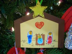 One of my favorite crafts to do for Christmas! Christmas Bible, Religious Christmas Cards, Christmas Crafts For Gifts, Preschool Christmas, Christmas Activities, Kids Christmas, Jesus Crafts, Bible Crafts, Crafts To Do