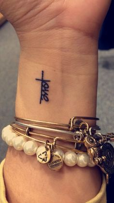 Your love never fails, never gives up, never runs out on me. #tattoosforwomenmeaningful