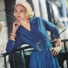 1957 Vintage Sewing Pattern - Claire McCardell Dress - McCalls 4228
