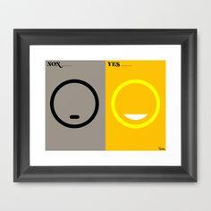 l'humeur Framed Art Print by Vahram Muratyan - $52.00