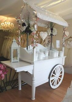 Simply Stunning Candy Cart at Wedding