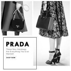 Today's Deal Of The Day! Shop #Prada #Handbags At Amazing Discounts! For 24 Hours Only!