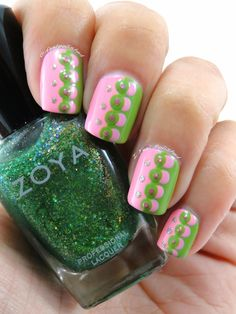 Tickled and Bubbly Dotticure