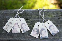 DIY: Make Photo Gift Tags That'll Make Even Santa Jealous   Photojojo (cheap christmas punch)