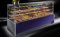 A beautiful pastry display case from our Esilir line (Criocabin). Check out more of this product at http://www.criocabin.com/en/products/standard/elisir.html