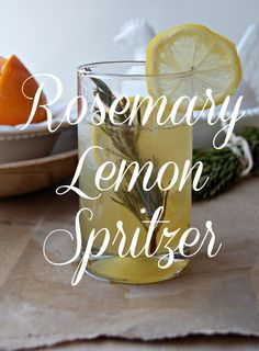 ... com rosemary lemon spritzer rosemary lemon spritzer